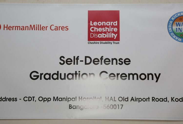 Self-Defence Course Graduation Ceremony Sponsors
