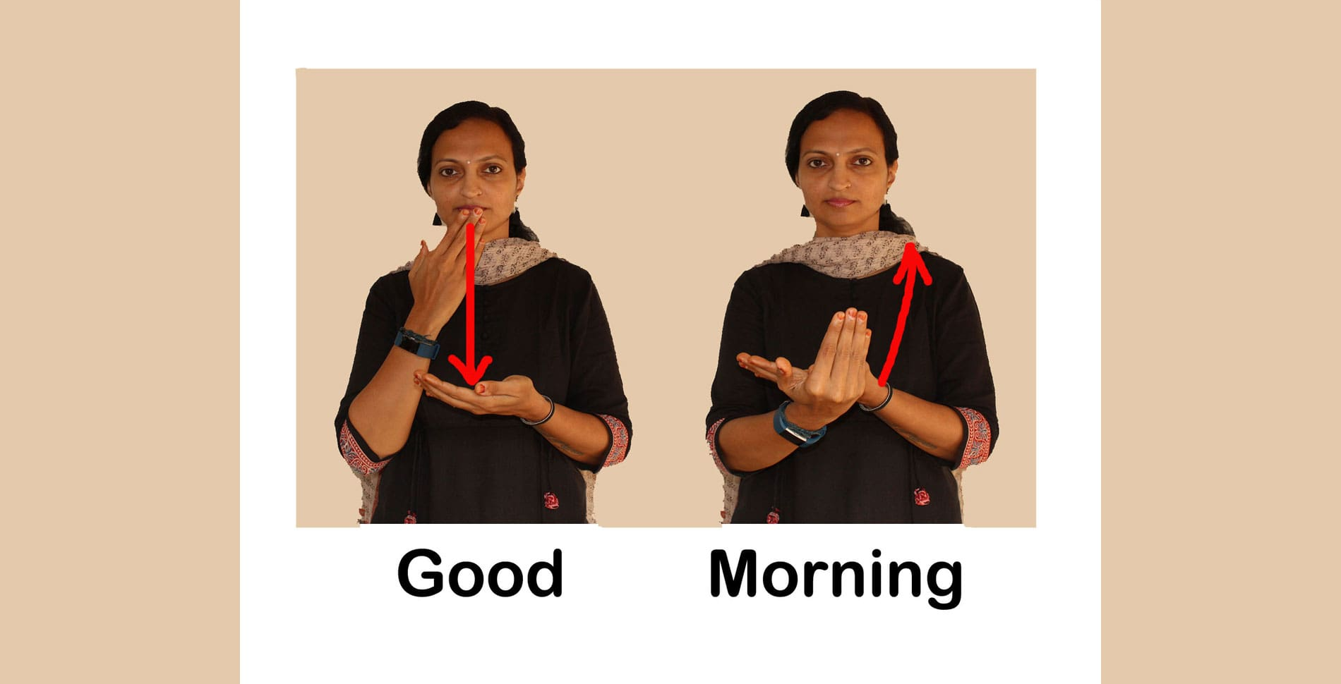 Good Morning in Sign-Language